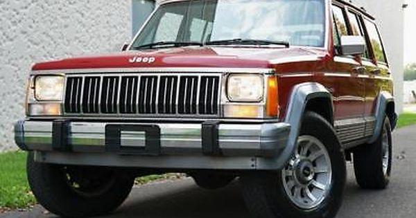 Ebay 1989 Jeep Cherokee Laredo Only 63k Miles 4x4 Laredo 4wd Xj