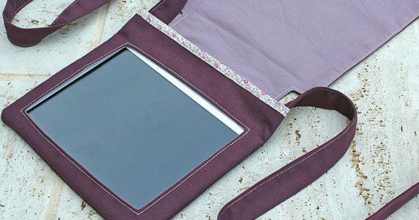 pochette pour tablette utilisation voiture dans la bulle de misslilou housse disque dur. Black Bedroom Furniture Sets. Home Design Ideas