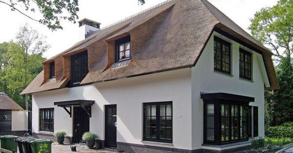Romantische villa huis buitenzijde pinterest huizen rieten en boerderij - Lay outs rond het huis ...