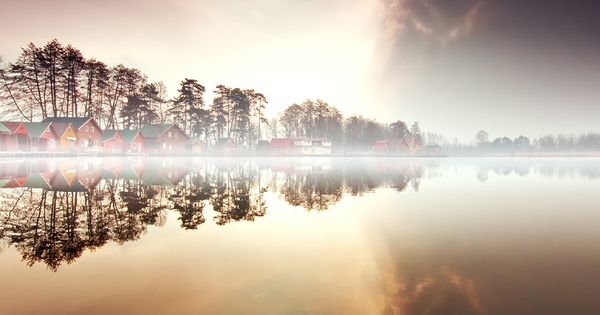 Nordic Fog /Adam Dobrovits, via 500px. Wall art!!
