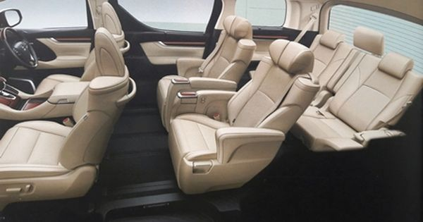 Interior Toyota Alphard 2 5l Mobil