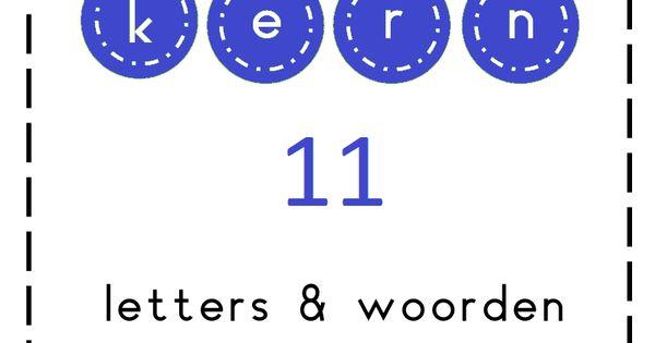 Kern 11 vragen prachtig en appelmoes in kern 11 wordt verder geoefend met woorden waarvan de - Werkblad eindigen ...