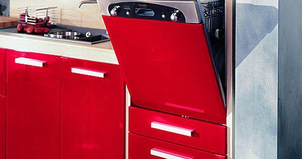 Plus besoin de se pencher pour charger ou vider le lave - Cuisine lave vaisselle en hauteur ...