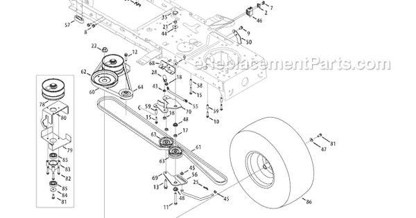 Troy Bilt 13wx78ks011 Parts List And Diagram Bronco 2011 Ereplacementparts Com Yard Machine Craftsman Diagram
