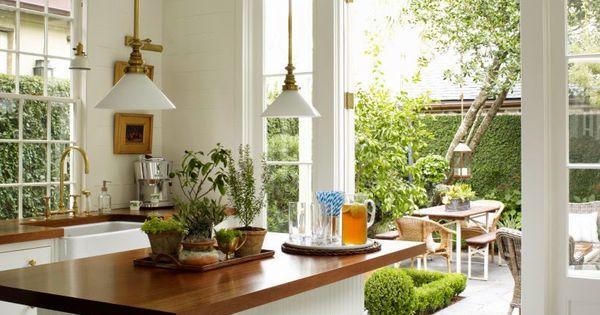 Desde my ventana una cocina abierta al jardin open for Cocinas abiertas al jardin