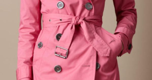 Pink Trench Coat ♥