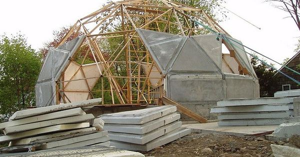 Constructing a dome home ideas for development - The geodesic dome in connecticut call of earth ...