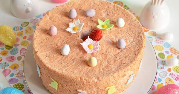 angel cake de pâques via @sophieturbigo | gateaux et autres