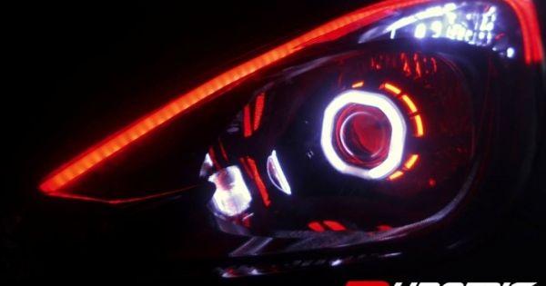 Bmw led angel eyes e92-7813