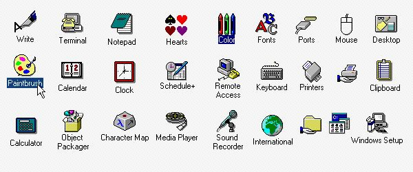 Know Your Icons Part 1 A Brief History Of Computer Icons Computer Icon Iphone App Design Microsoft Icons