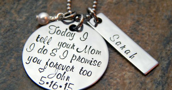 Step Daughter Wedding Gift - Grooms Daughter - Wedding Day Gift ...