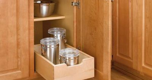 Rev A Shelf Small Pull Out Wood Drawer 4wdb 12 At The Home