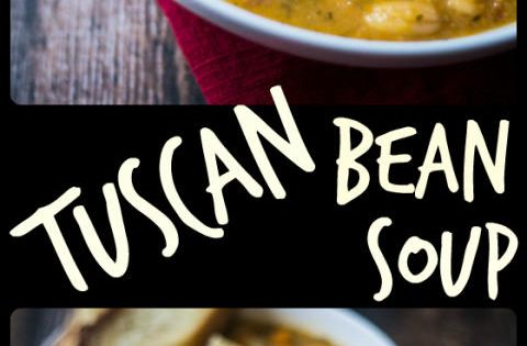 Easy Tuscan Bean Soup | Recipe | White Bean Soup, White Beans and 30 ...