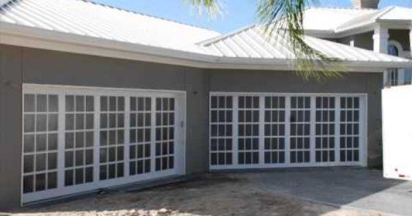 Garage Before And After Garage Door Design Garage Doors Garage Exterior