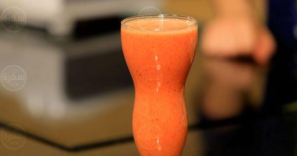 Cbc Sofra طريقة تحضير عصير مانجو باليوسفي شريف الحطيبي Recipe Milkshake Smoothies Glassware