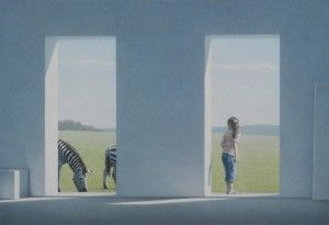 2009 Morgen Mit Zebras Study Art History Art Magic Realism