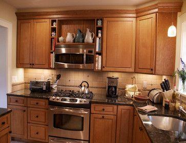 microwave over range design ideas