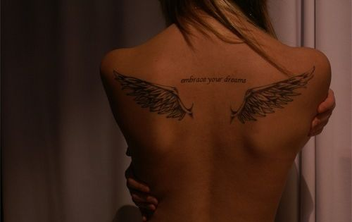 LOVE the wings! have thought about getting wings on my back but