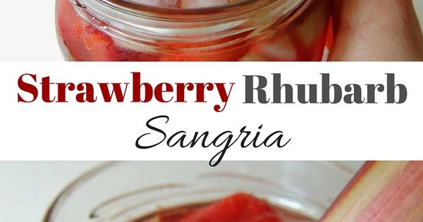 Sangria, Cocktails and Sodas on Pinterest