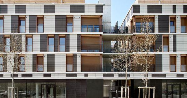 Fen Tres Sur Cour Valenton D 39 Architectures