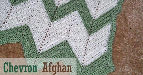Free Crochet Afghan Patterns Chevron Afghan Chevron