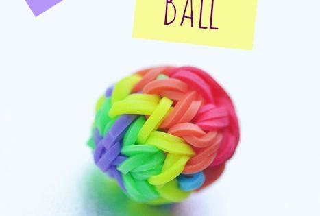 How to Make a Rainbow Loom Bouncy Ball rainbowloom monstertail