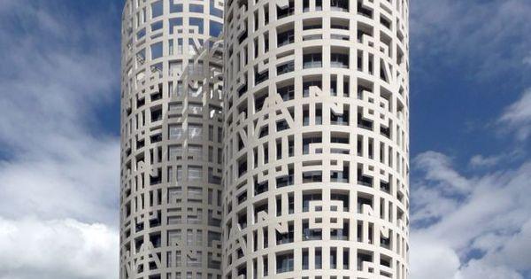 Torres de Hércules (Hercules Towers), Los Barrios (Andalucía, Spain). Designe...