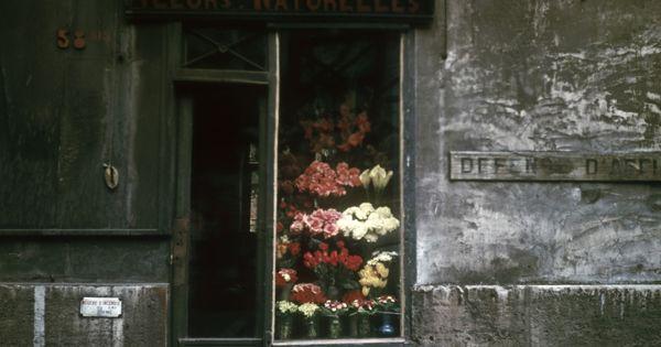 Shop front ...