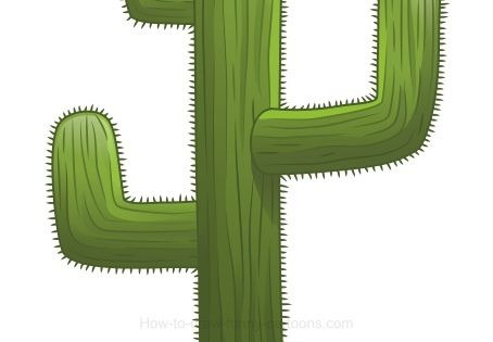 How to draw a cactus | Draw & Paint | Pinterest | How To Draw, To Draw ...