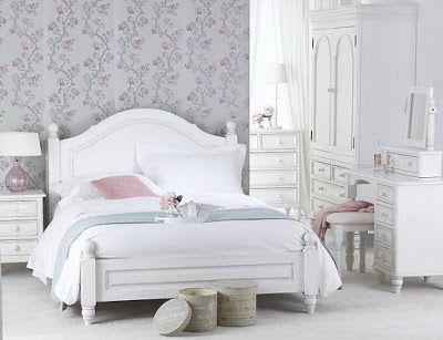 أثاث غرف نوم مودرن باللون الأبيض Shabby Chic Bedroom Furniture Bedroom Furniture Sets Shabby Chic Bedrooms
