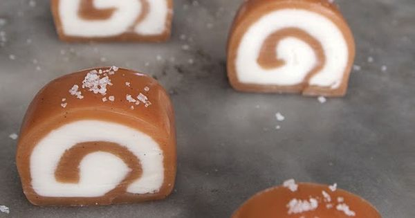 Vanilla Cream Salted Caramels