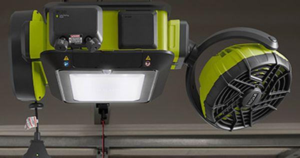 Meet The 2 Hp Ultra Quiet Ryobi Garage Door Opener Garage Door Opener Installation Best Garage Door Opener Garage Door Opener Repair