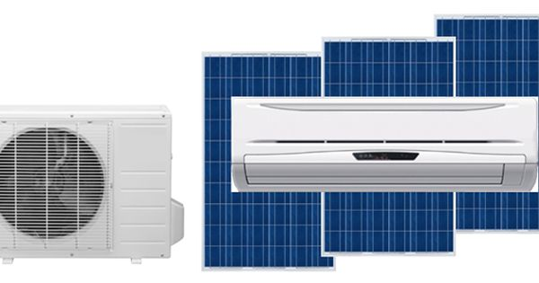 Solar Air Conditioner A C Mitsubishi Capacity 1 Ton 1 5 Ton Solar Panel Required Fo Solar Air Conditioner Solar Heating Solar Powered Air Conditioner