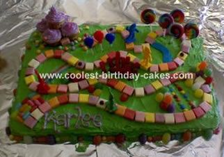 Magnificent Coolest Candyland Cake Cool Birthday Cakes Eat Cake Cake Funny Birthday Cards Online Alyptdamsfinfo