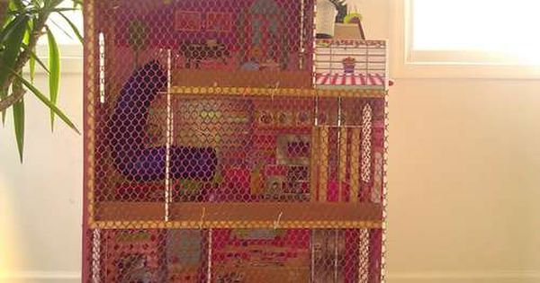 Pin On Hamster Cage Ideas