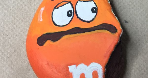 M&M painted rock -by Kerry | Rock Painting | Pinterest ...