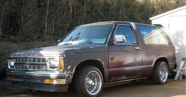 Old School Hydraulic Cars Chevy S10 S10 Blazer
