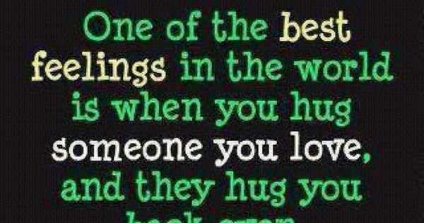Love this quote it's so true! one of the best feelings in