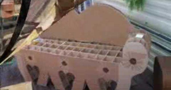 Cr ation d 39 un canap en carton youtube inspirations for Fabrication d un canape