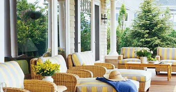 Summer Home Decorating Ideas 18 Front Porch Designs