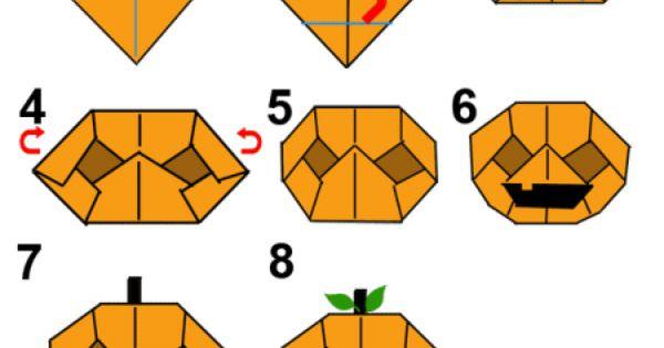 here�s how to make an origami halloween halloween