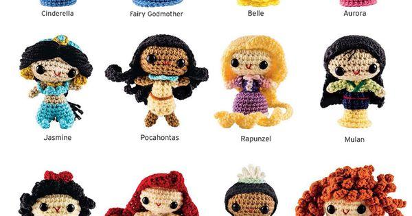 Patron Amigurumi Princesas Disney : Crochet Kits: FROZEN and Princesses Amigurumi Patterns ...