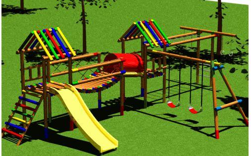 Juegos infantiles de madera para jardin buscar con for Google banco exterior