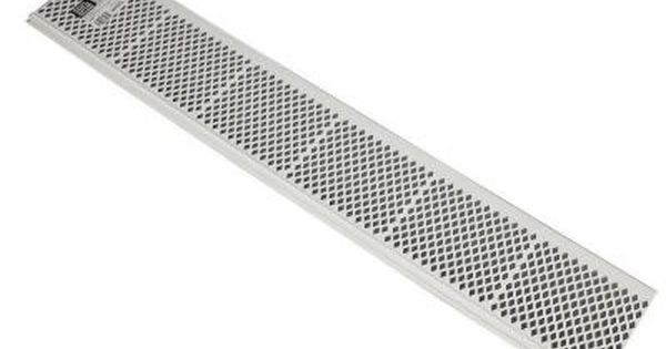 Amerimax Home Products 3 Ft Snap In White Gutter Guard 85270
