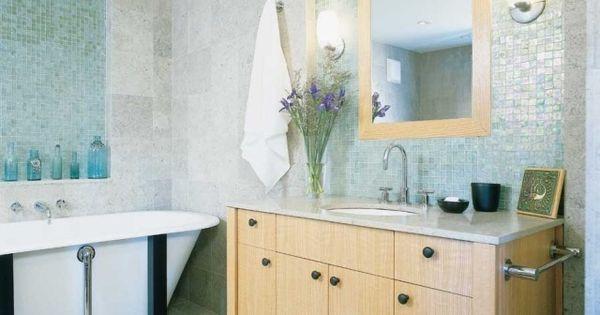 Mosaïque salle de bain - esthétique avec plusieurs avantages ...