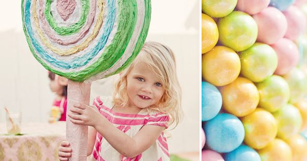 Adorable lollipop pinata! party-ideas parties ideas decor holidays entertaining birthdays http://studentloanslegalhelp.com/