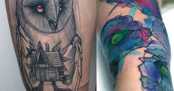awesome tattoo artist - peter aurisch