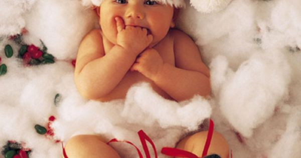 Baby Christmas Picture Idea