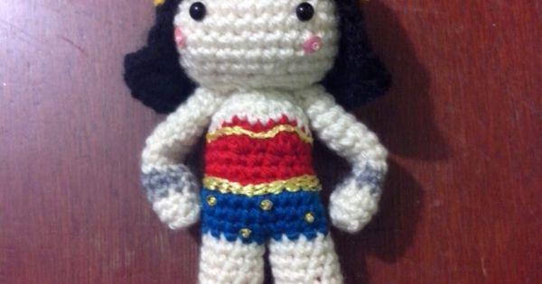 Amigurumi Wonder Woman : amigurumi mujer maravilla wonder woman crochet dc comics ...