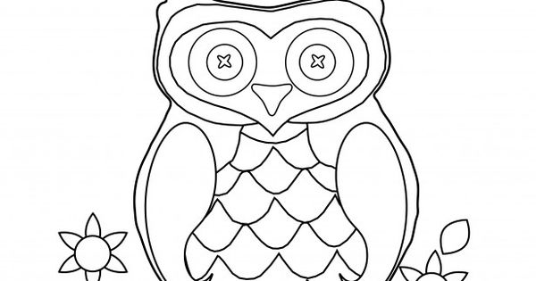 Owl Coloring Page Clipart CP Owls Pinterest
